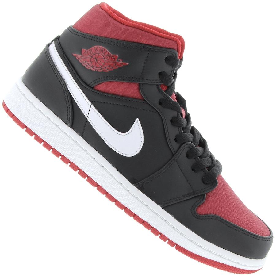 2038b58b730 Tênis Nike Air Jordan 1 Mid - Masculino