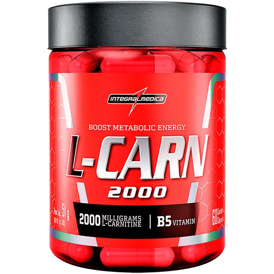 L-Carn 2000 Integralmédica - 60 Cápsulas