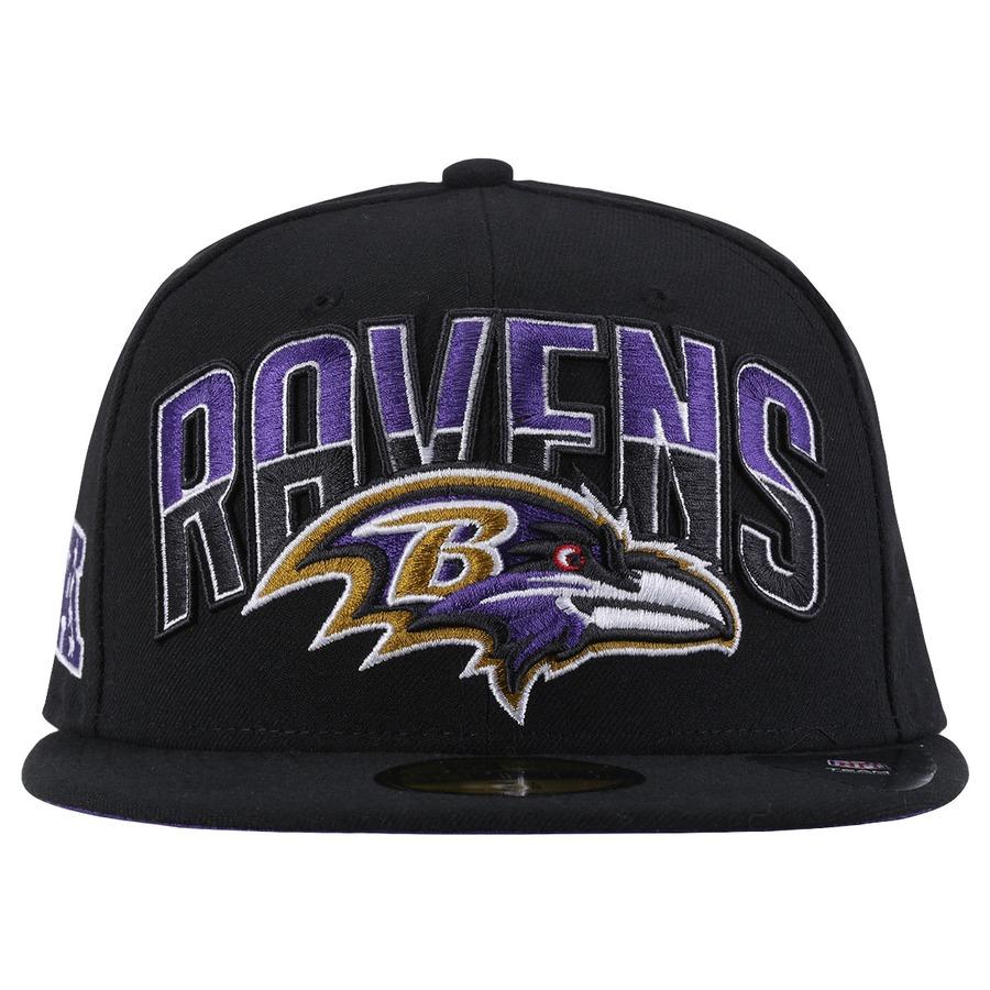 Boné Aba Reta New Era Baltimore Ravens - Fechado - Adulto ... d7f6b3c0f83de