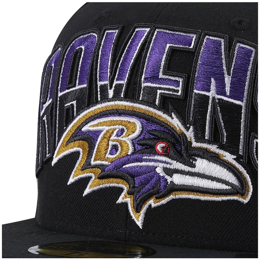 ... Boné Aba Reta New Era Baltimore Ravens - Fechado - Adulto ... 88f7094a2c165