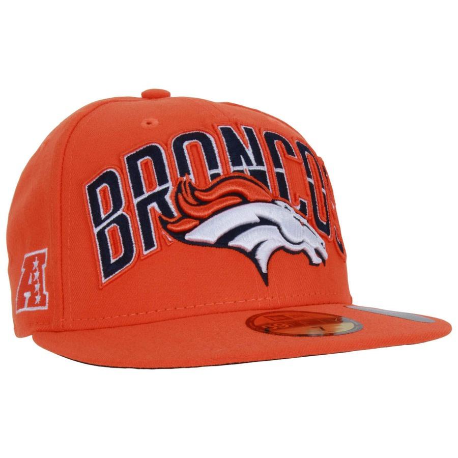 Boné Aba Reta New Era Denver Broncos - Fechado - Adulto 330a0626d20b2