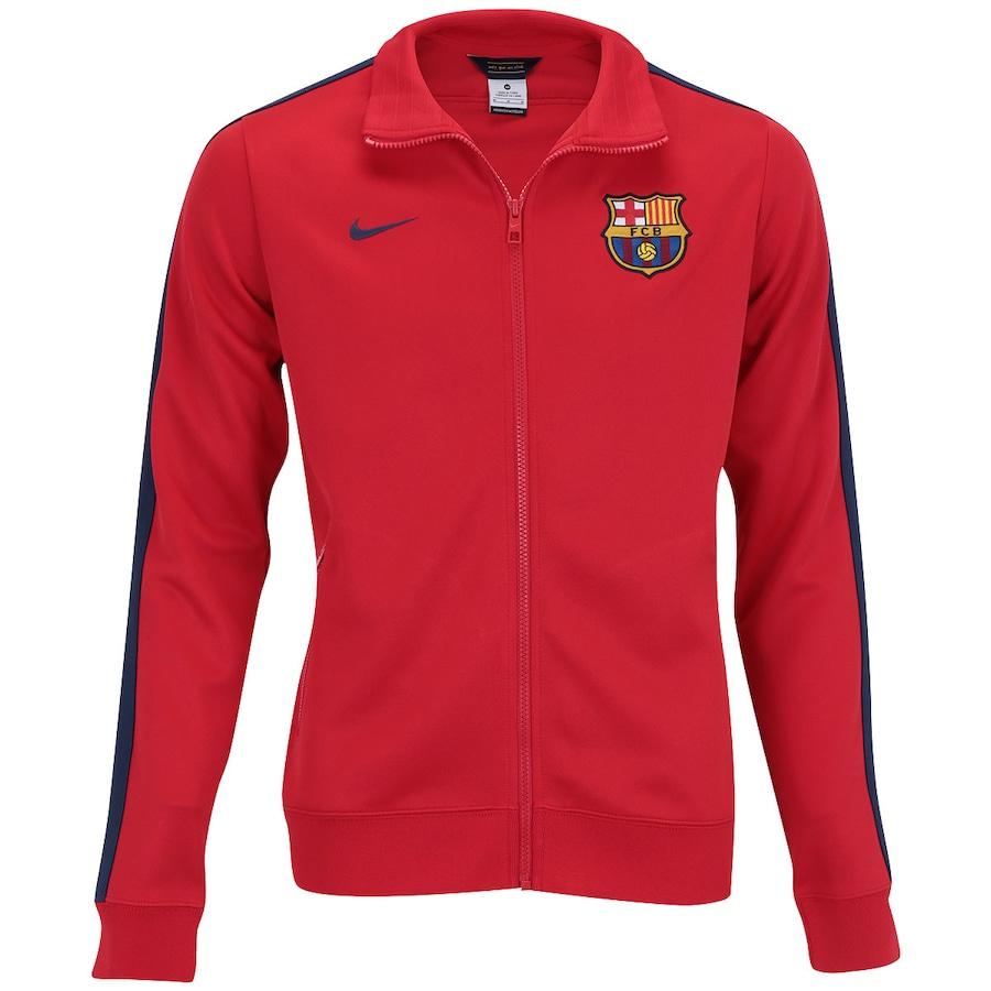f20770192c Jaqueta Nike Barcelona Authentic N98 542394 - Masculina