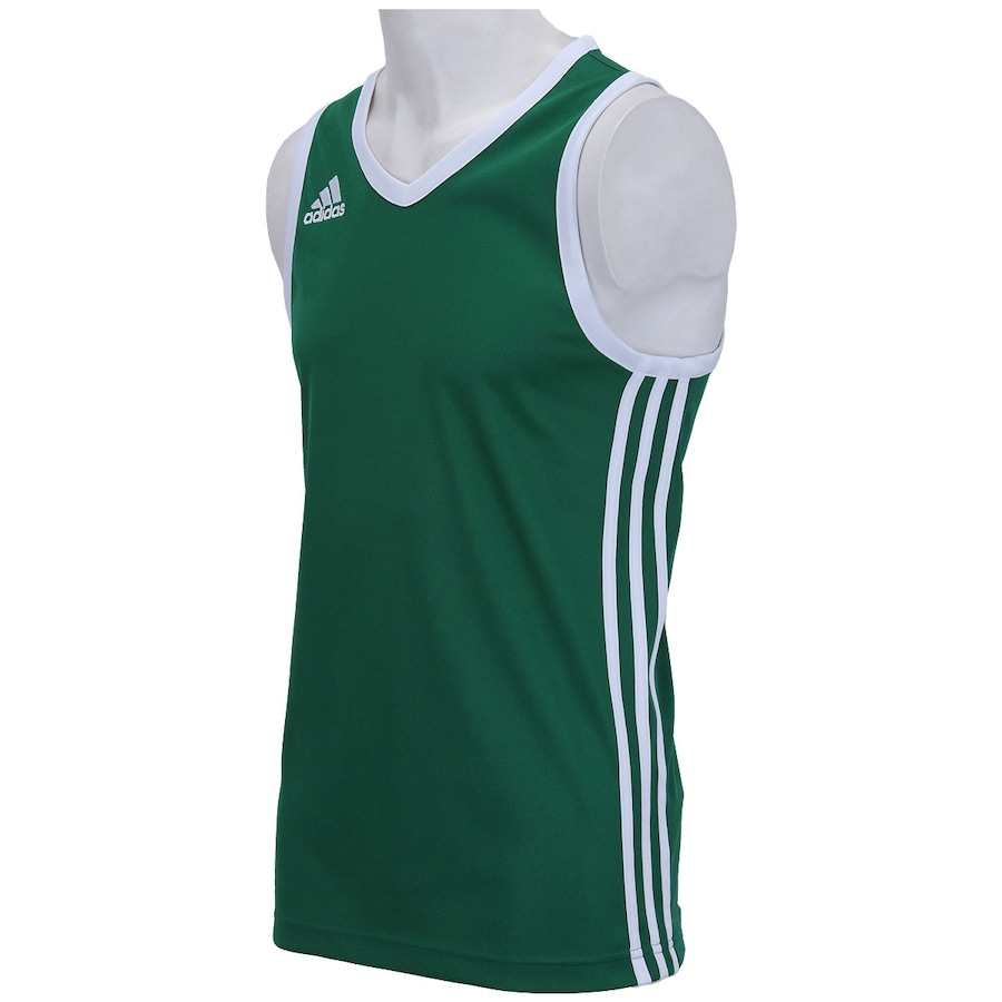 7e5bb8dccf Camiseta Regata adidas Commander Listras Vert. - Masculina