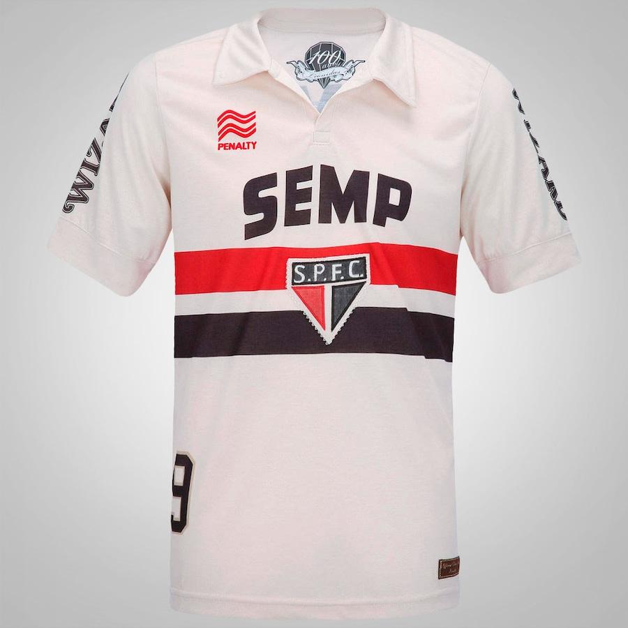 Camisa Penalty São Paulo I Leônidas Da Silva Coleção Raízes 2013 Masculina e5466fac88ac7