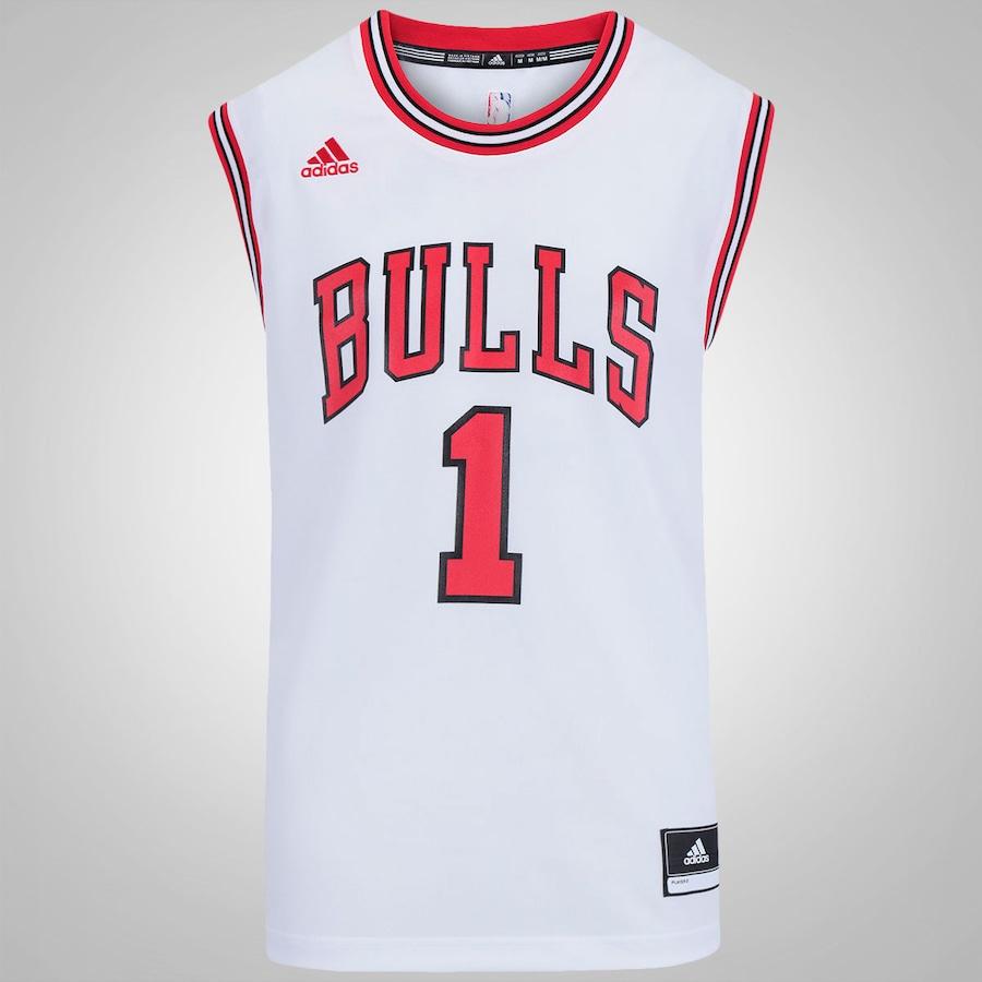 Camiseta Regata adidas NBA Chicago Bulls - Centauro.com.br b88cb07345d