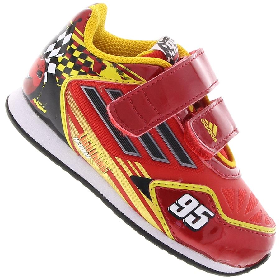 buy online 95401 6ce01 Tênis Adidas Disney Cars 2 V2 CF Infantil