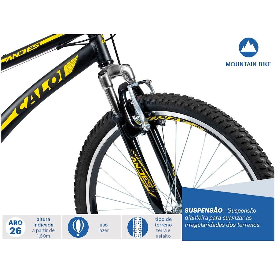Bicicleta Caloi Andes - Aro 26 - Freio V-Brake - 21 Marchas 99493339a86ad