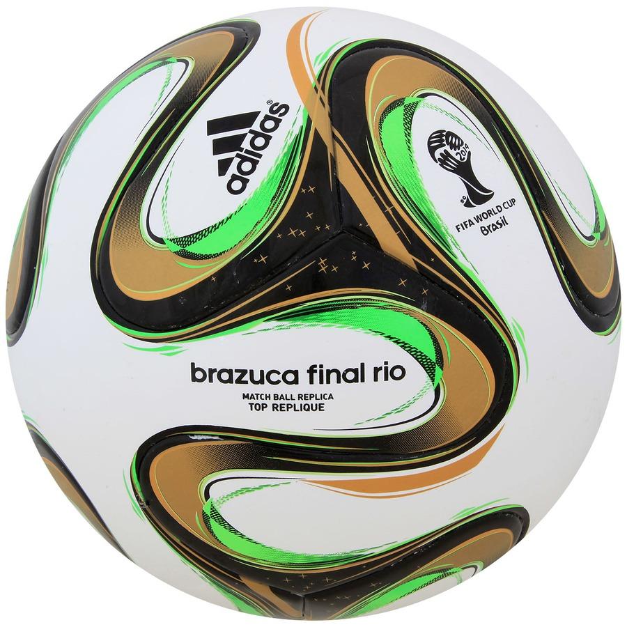 Bola Brazuca Top Replique Final Rio Copa do Mundo FIFA 14 7905c097ce0b1