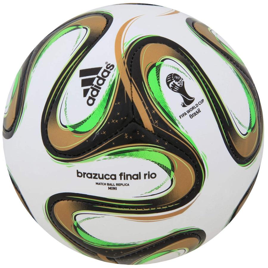 72b1cbdc23 Bola Brazuca Glider Final Rio Copa do Mundo da FIFA 2014