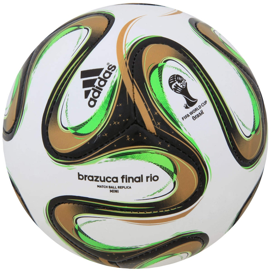 Bola Brazuca Glider Final Rio Copa do Mundo da FIFA 2014 ... d4d69caeef4a5