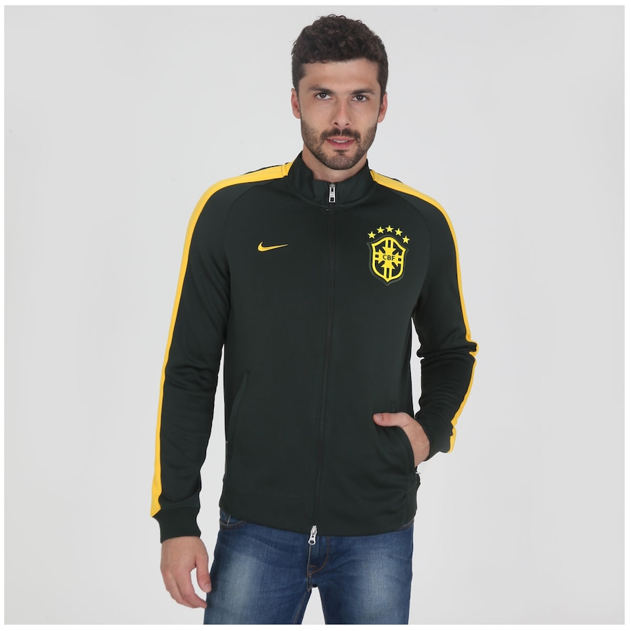 ce1ac70a1b Blusão Nike Brasil CBF N98 2014 Masculino