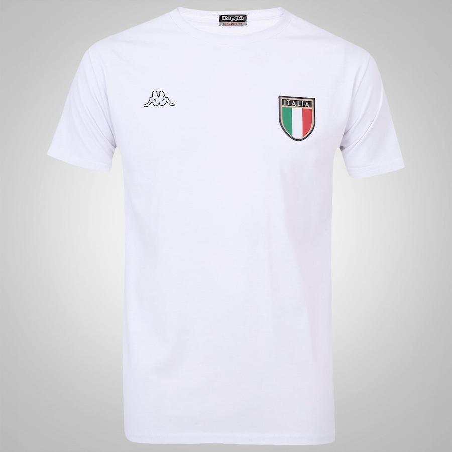 Camiseta Itália Kappa - Masculina 168bfe1dba641