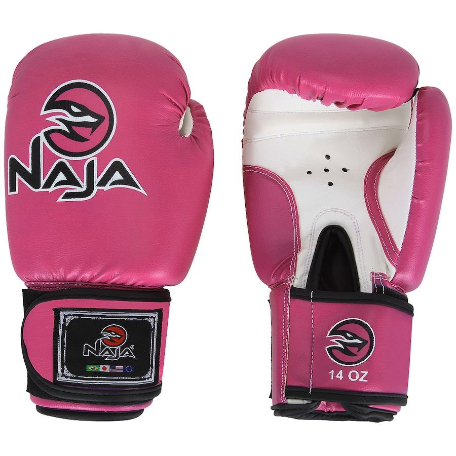 252cb9661 Luvas de Boxe Naja Muay Thai 14Oz