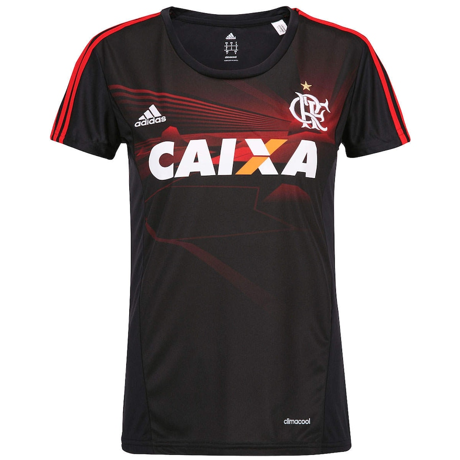 Camiseta adidas Flamengo III - Feminina 1ac8035a34bca