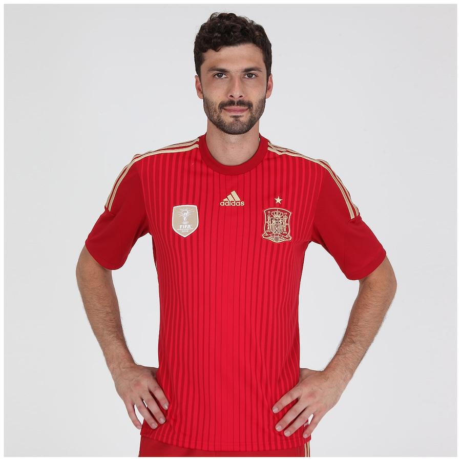 eda1879937f9c Camisa Espanha I S N 2014 Torcedor adidas - Masculina