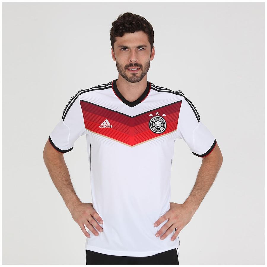 25f51a37ffff6 Camisa Adidas Seleção Alemanha I s n 2014 - Torcedor