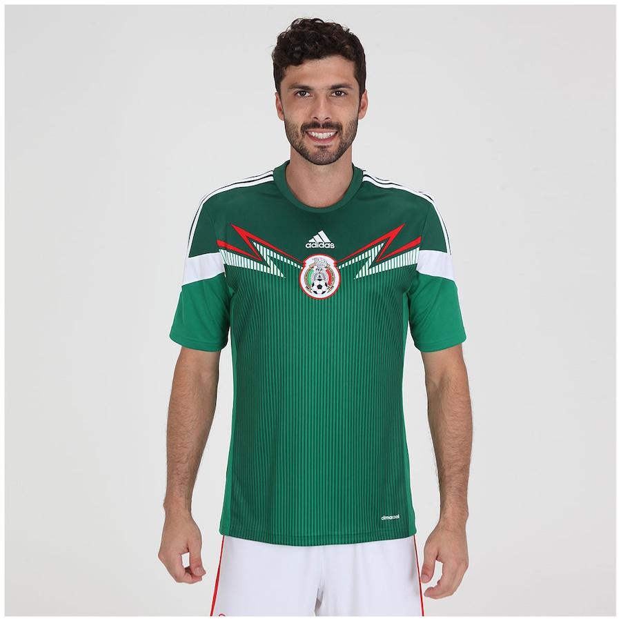 e53ca26790885 Camisa Adidas Seleção México I s/n 2014 - Torcedor