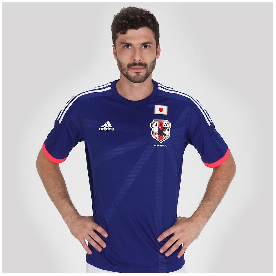 Camisa Adidas Seleção Japão I s n 2014 - Torcedor db141cb290e7e