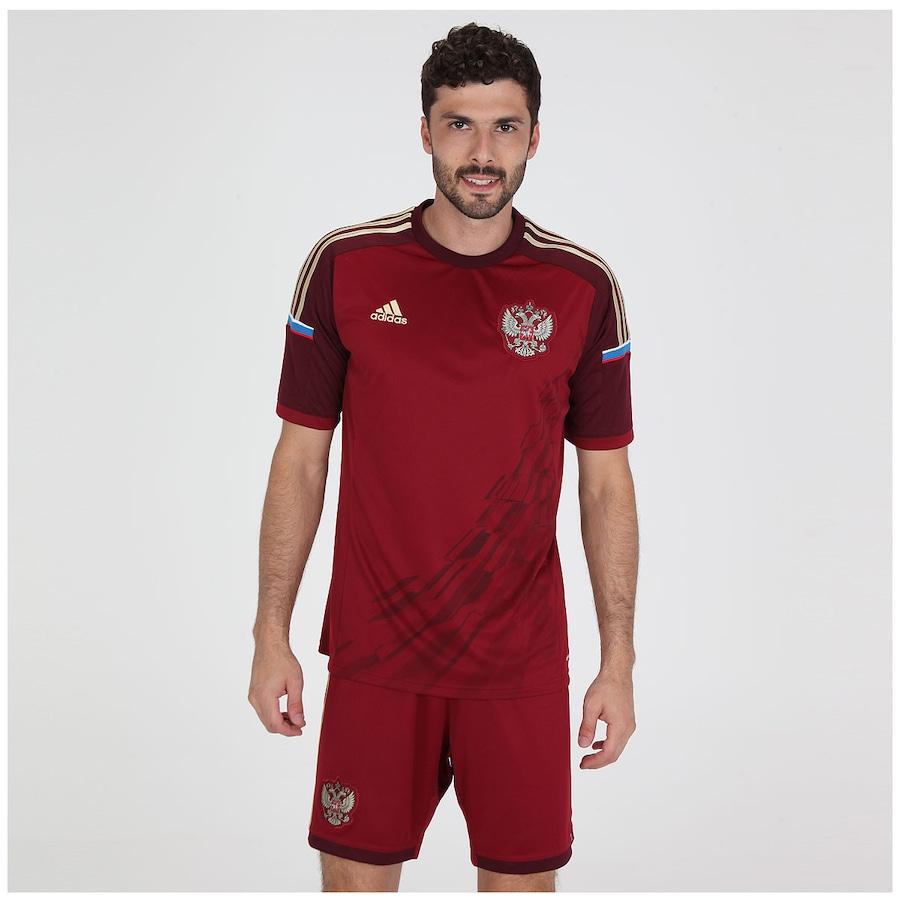 Camisa adidas Seleção Rússia Home s nº 2014 - Masculina daf64bec734f4