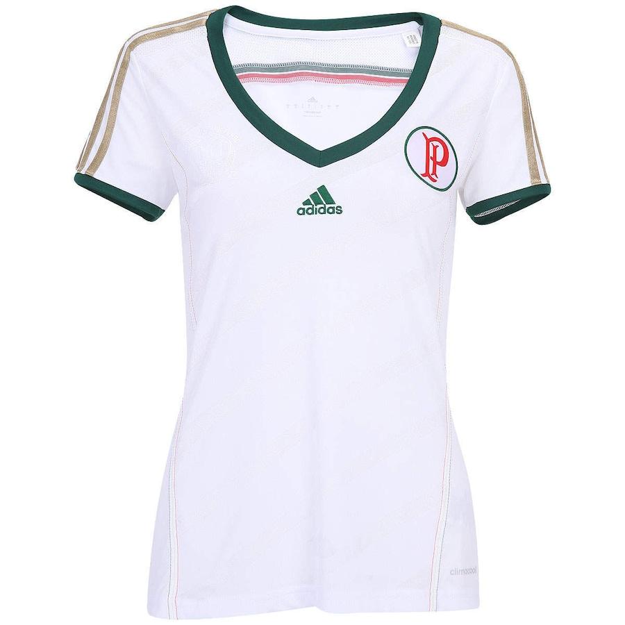 fca2bc4c9e56a Camisa Adidas Palmeiras II 2014 Feminina