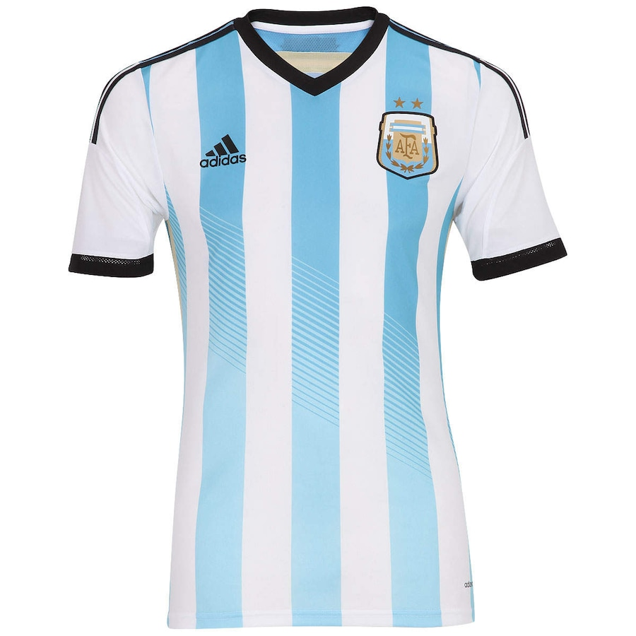 Camisa Adidas Seleção Argentina I s n 2014 - Jogador a83884de3dbbc