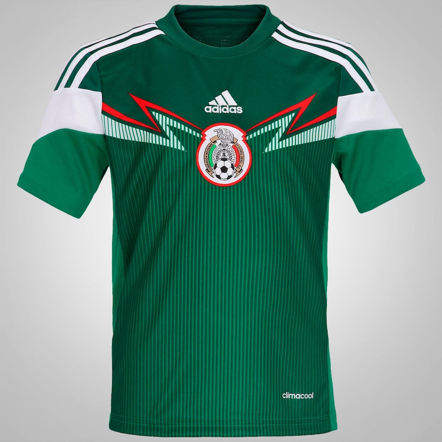 8f068425b4c92 Camisa do México I 2014 adidas – Infantil