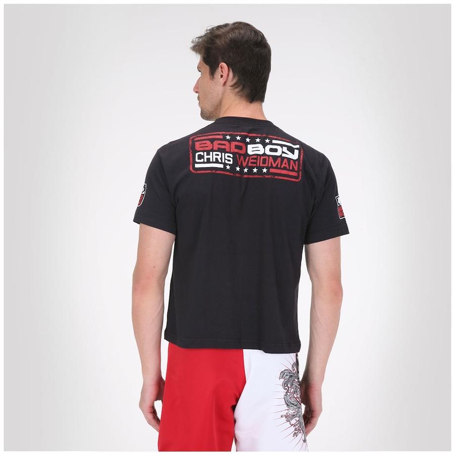 bde5a922e Camiseta Bad Boy Chris Weidman - Masculina