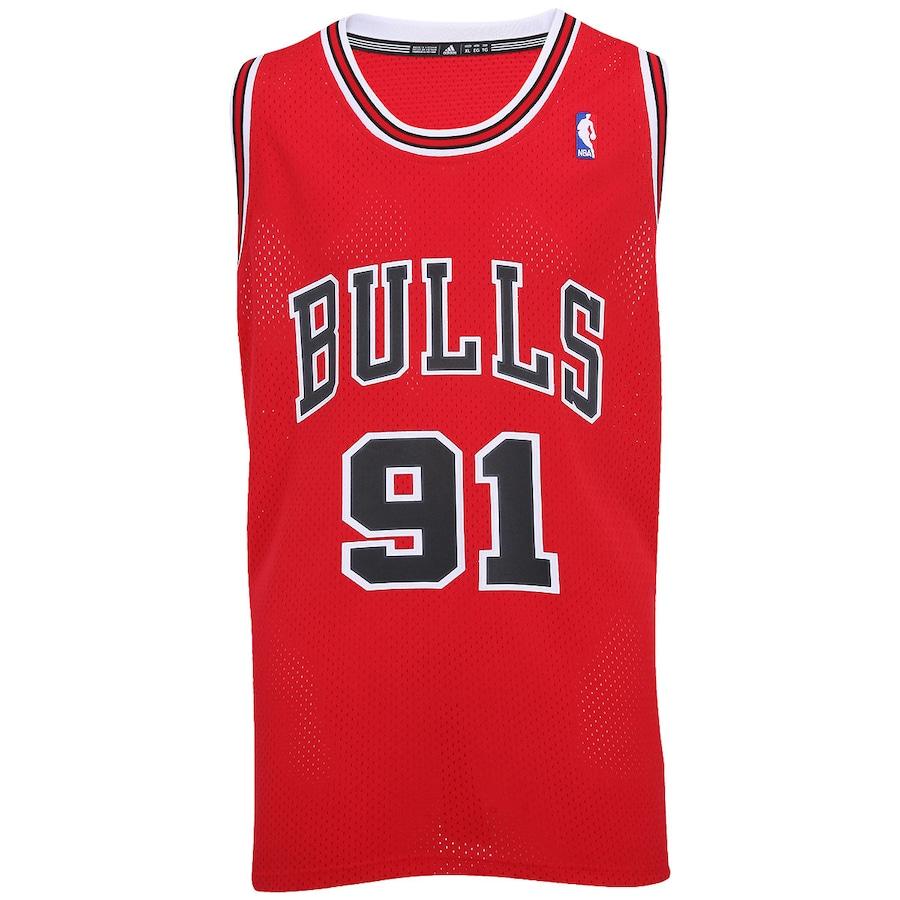 Camisa Regata Adidas Class Chicago Bulls Rodman Masculina 11ae922815d