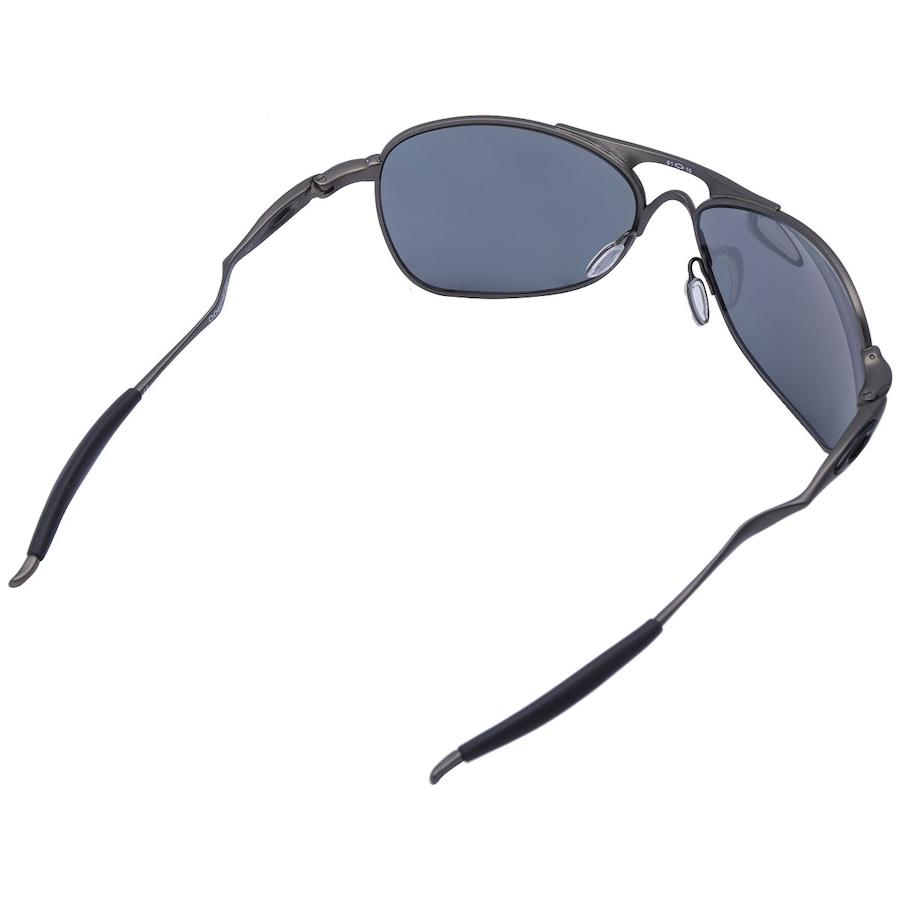 d763de4c6c129 ... Óculos de Sol Oakley Titanium Cross Hair Iridium Polarizado - Unissex  ...