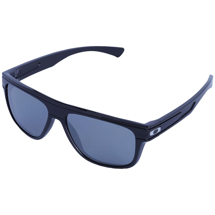 9fd386a194b40 Óculos de Sol Oakley Breadbox Iridium Polarizado Unissex