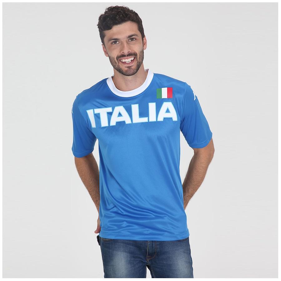 99717f3ed41de Camiseta Kappa Itália Masculina