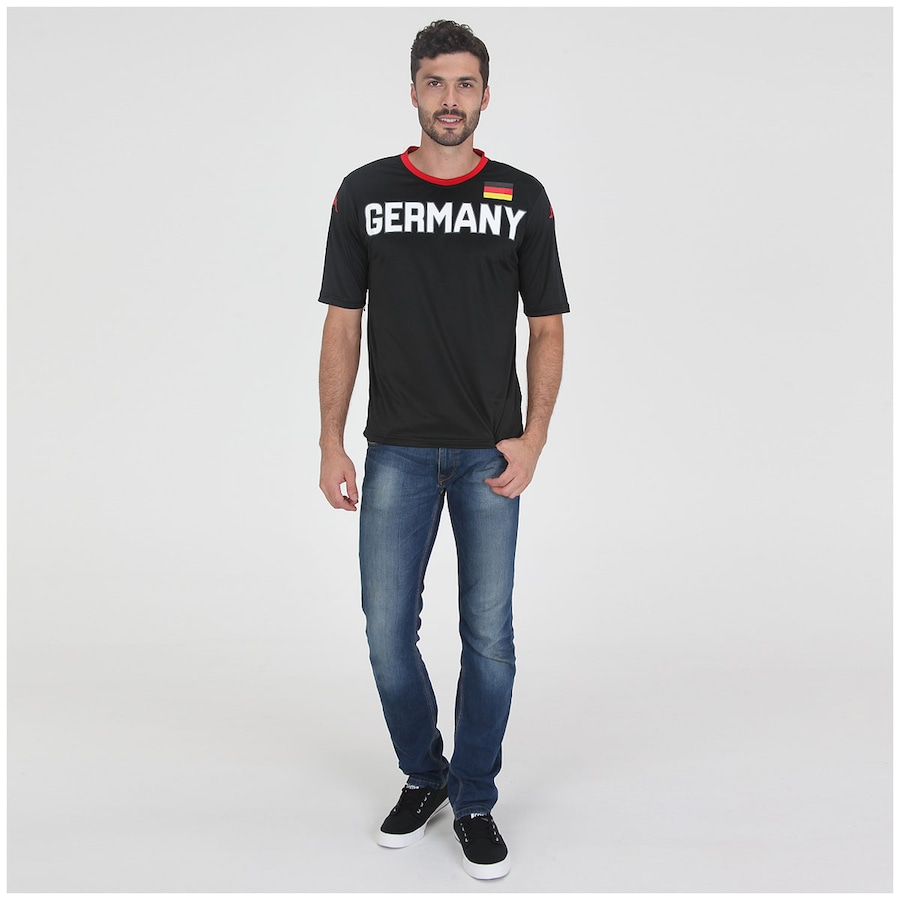 ... Camiseta Kappa Alemanha – Masculina ... 1c595661c8da0