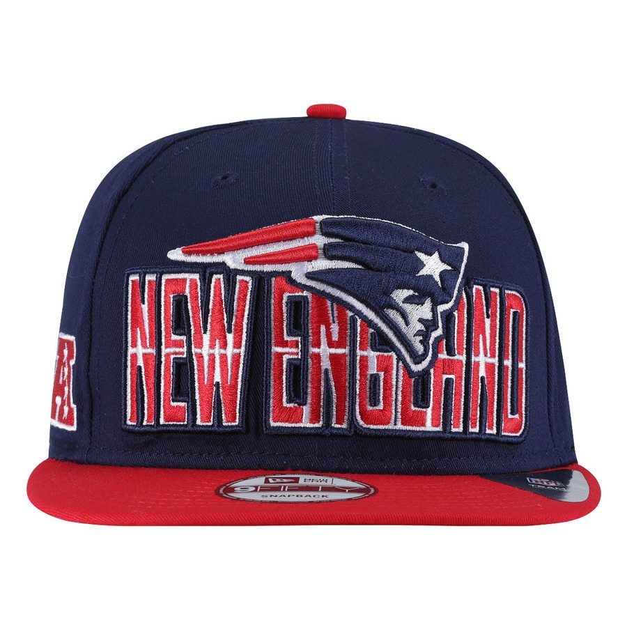 Boné Aba Reta New Era New England Patriots - Snapback c36c548530b