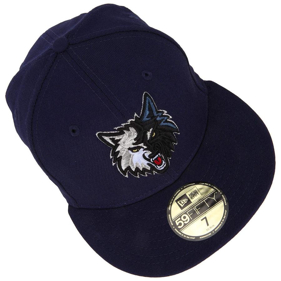 ... Boné Aba Reta New Era Minnesota Timberwolves - Fechado - Adulto 0042bc37669
