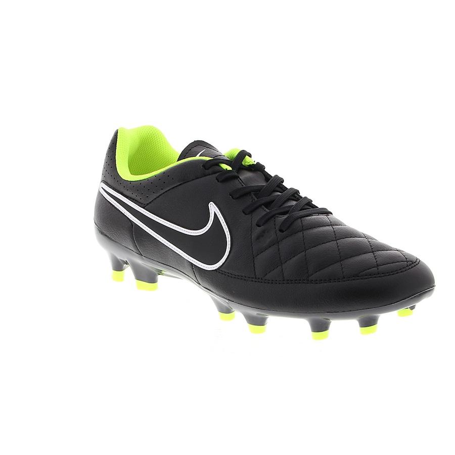 1549449825 Chuteira de Campo Nike Tiempo Genio Leather FG