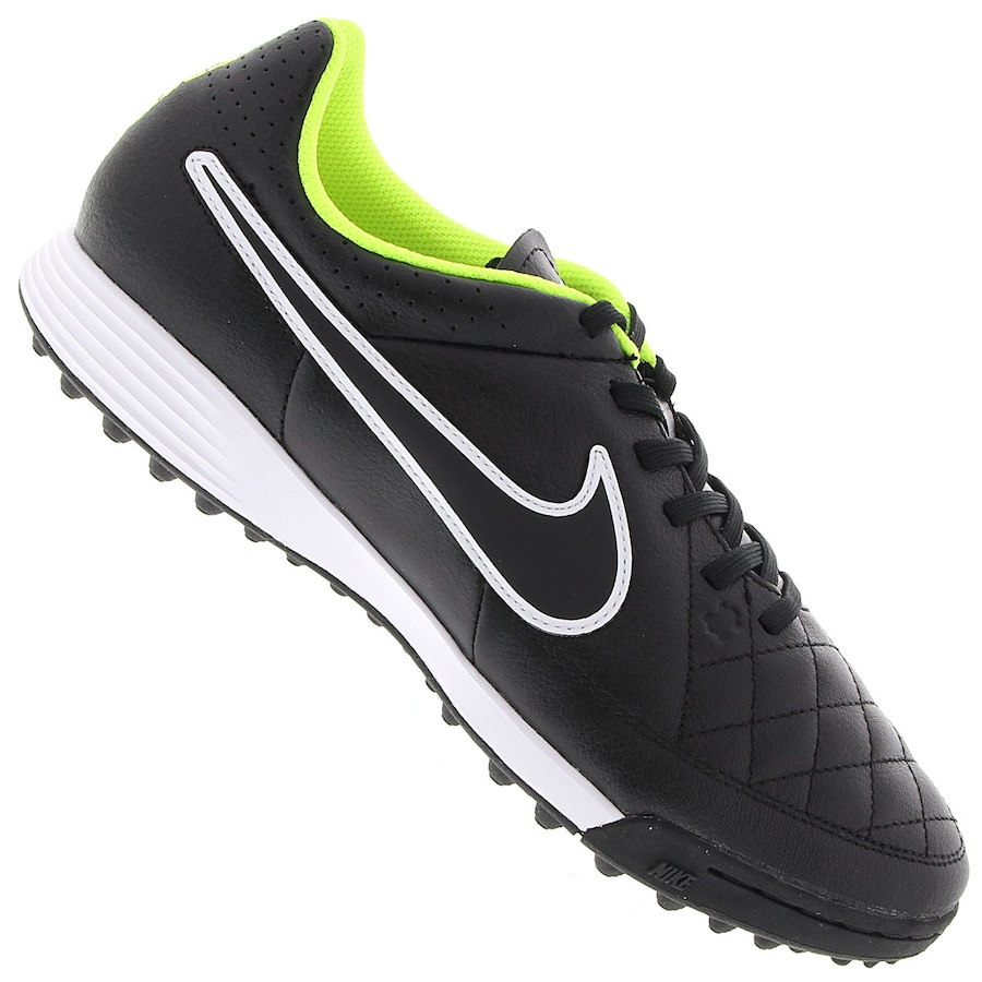 Chuteira Society Nike Tiempo Genio Leather TF 3db32ea685a0b