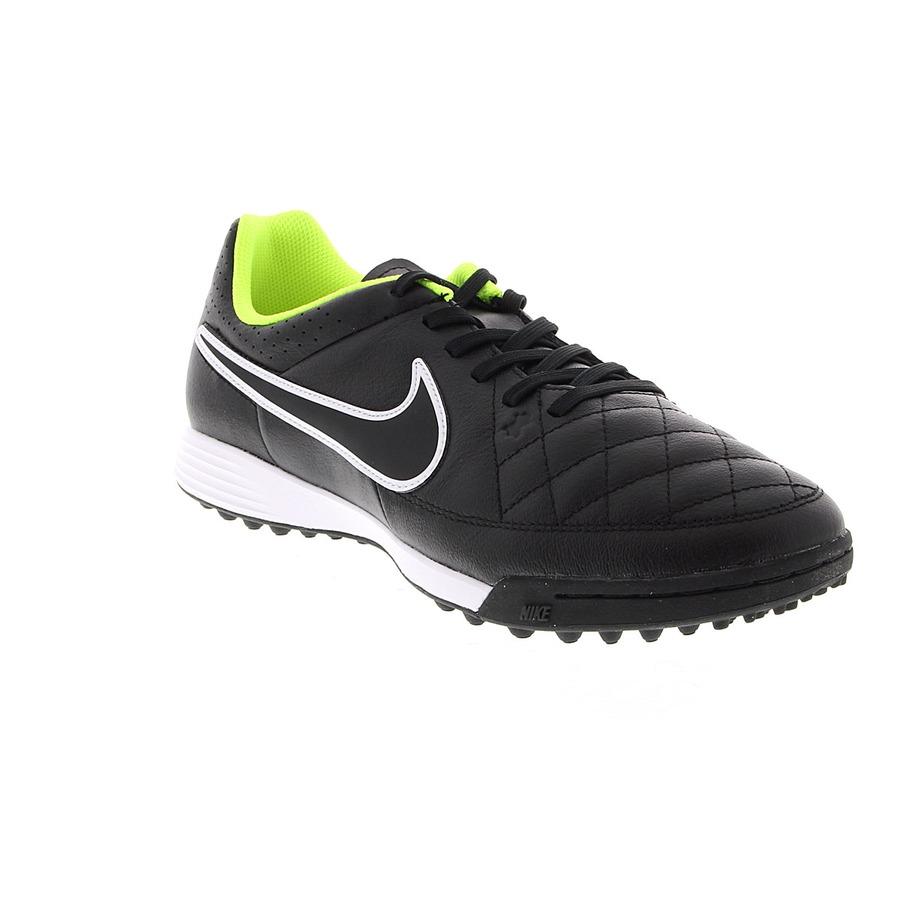 Chuteira Society Nike Tiempo Genio Leather TF 3845fb31b4076