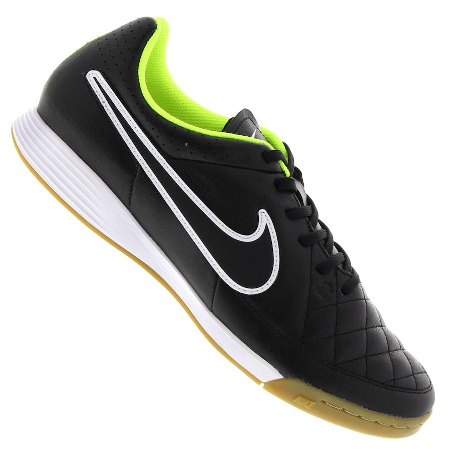 39417302fa667 Chuteira de Futsal Nike Tiempo Genio Leather IC