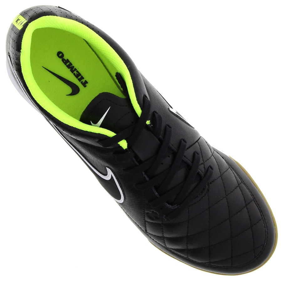 ac7e6892fd Chuteira de Futsal Nike Tiempo Genio Leather IC
