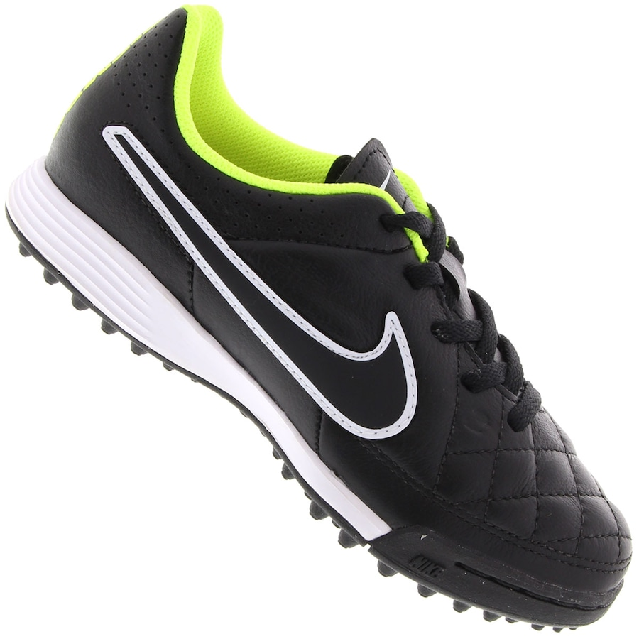 de7ce5c1b0 Chuteira Society Nike Tiempo Genio Leather TF - Infantil