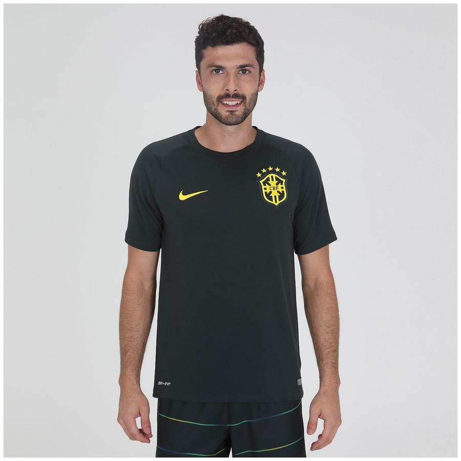 Camisa do Brasil Verde Nike Torcedor 2014 s n Masculina 364b31642be55