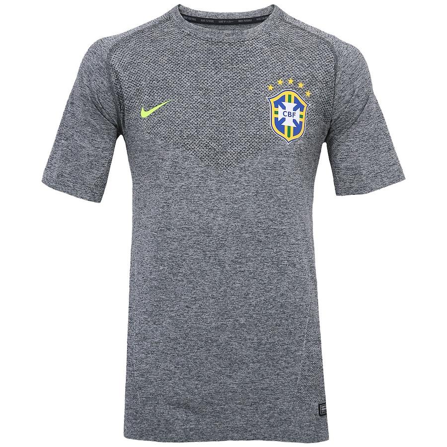 Camiseta Nike CBF Select Masculina 99ebcf36488