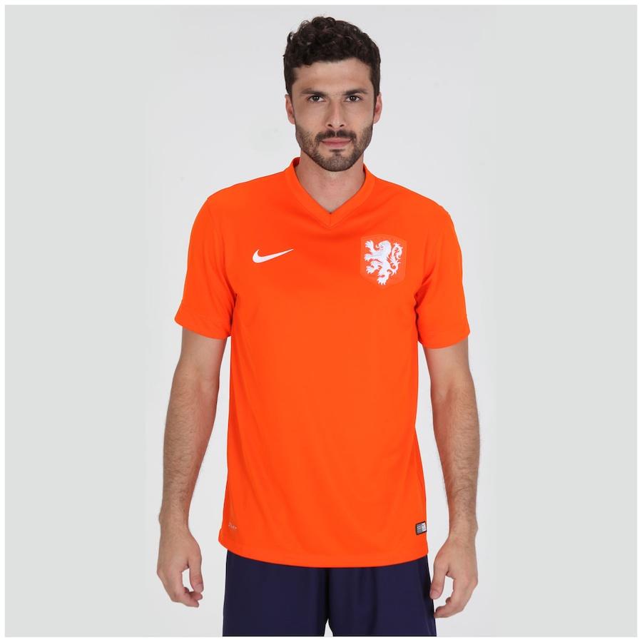 Camisa Nike Seleção Holanda I s n 2014 Torcedor 3369ad7358a4f