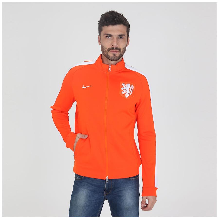 Jaqueta Nike N98 Holanda Authentic Trk Masculina 89e7c9ebc84bb