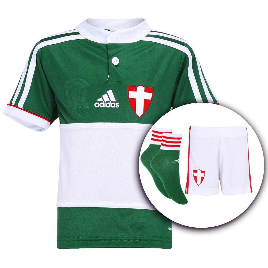 Kit Uniforme Adidas Palmeiras Savoia – Infantil a2be98d899e65