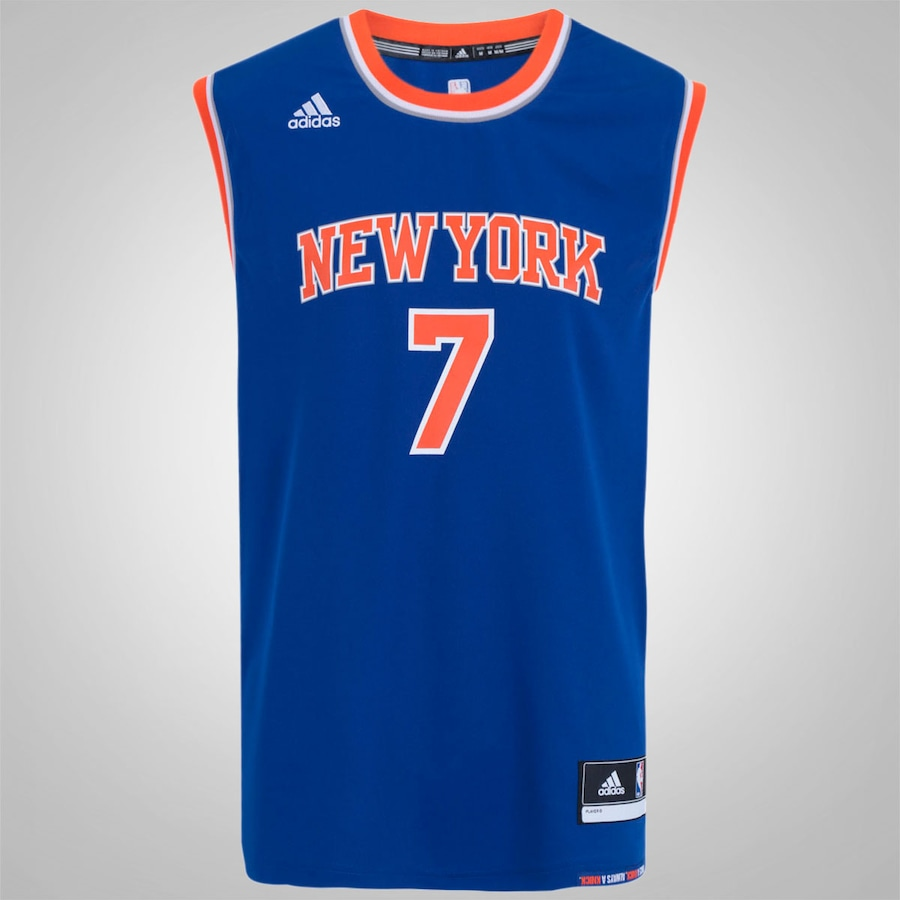 add880b79 Camiseta Regata adidas NBA New York Knicks 2 Carmelo