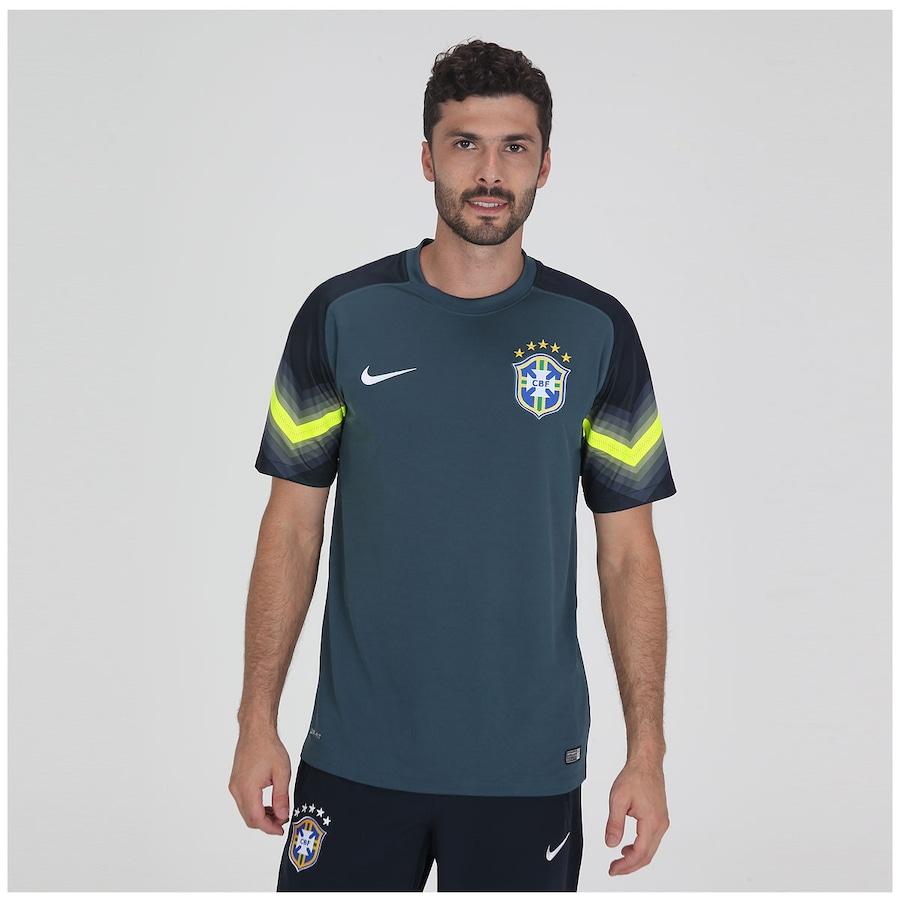 ece9ac30ed Camisa de Goleiro Nike Brasil CBF 2014 s nº
