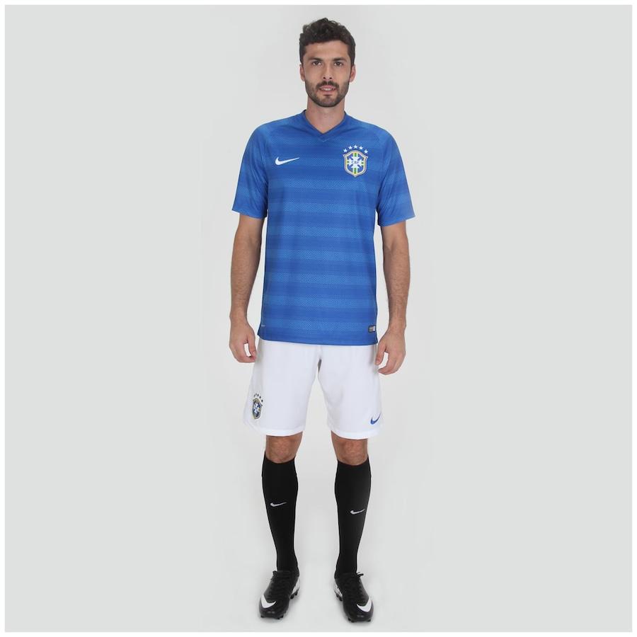 9d09ae2100 Camisa do Brasil Azul Nike Torcedor 2014 s n° Masculina