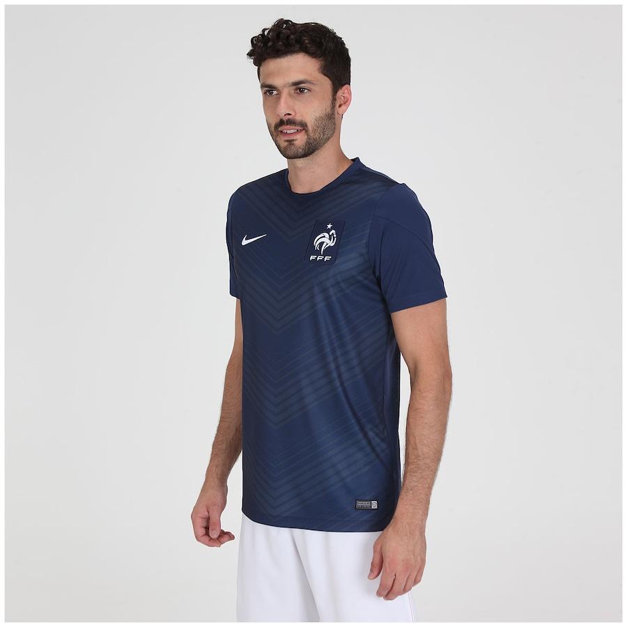4a9e1b643c Camisa Pré-Jogo Nike França 2014