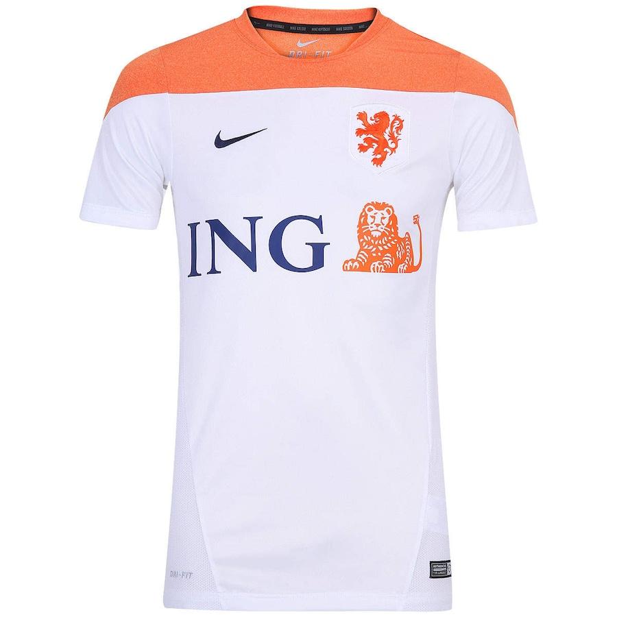 ... Camisa Nike Holanda Squad Treino – Masculina 7072a465da40a